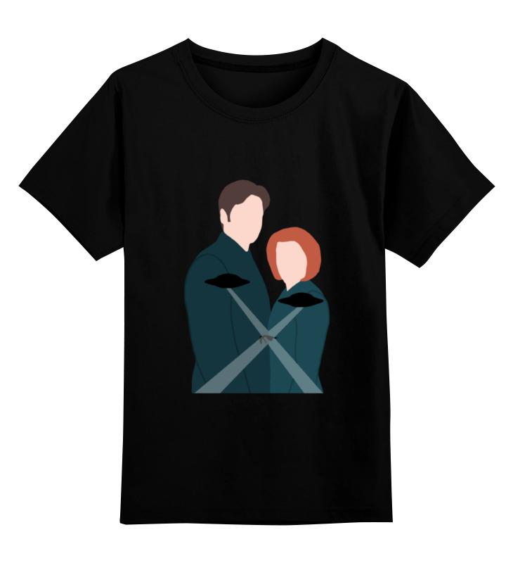 Детская футболка классическая унисекс Printio Секретные материалы ( the x-files) майка классическая printio секретные материалы x files