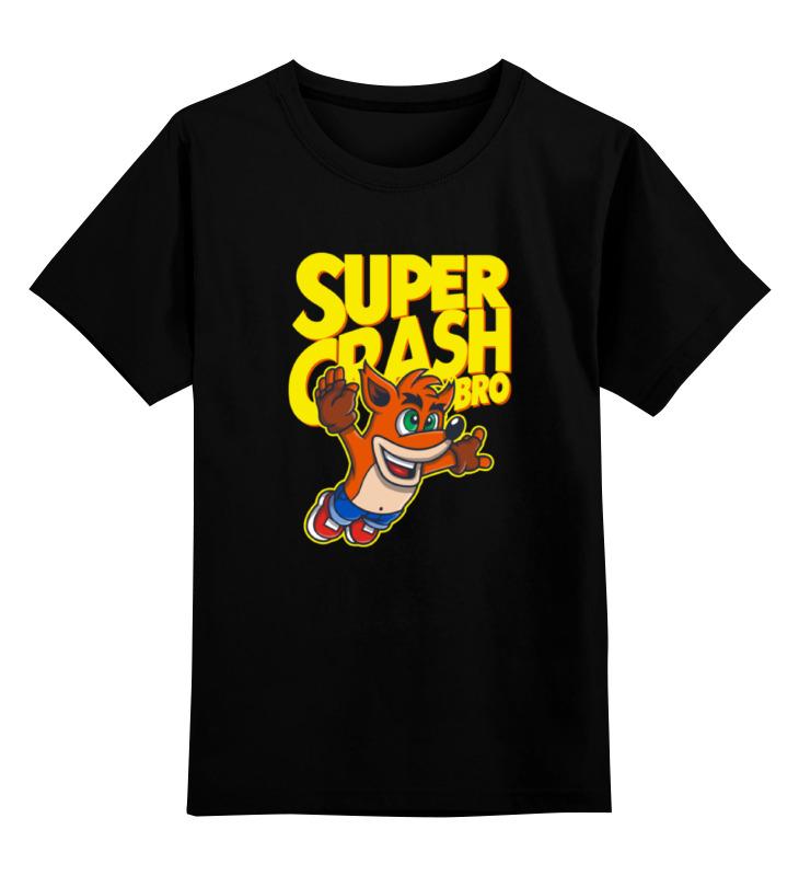 Детская футболка классическая унисекс Printio Крэш бандикут футболка классическая printio gta 5 dog