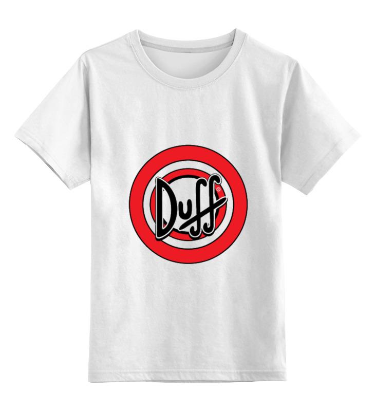 Детская футболка классическая унисекс Printio Duff beer киев подарочное пиво в наборе