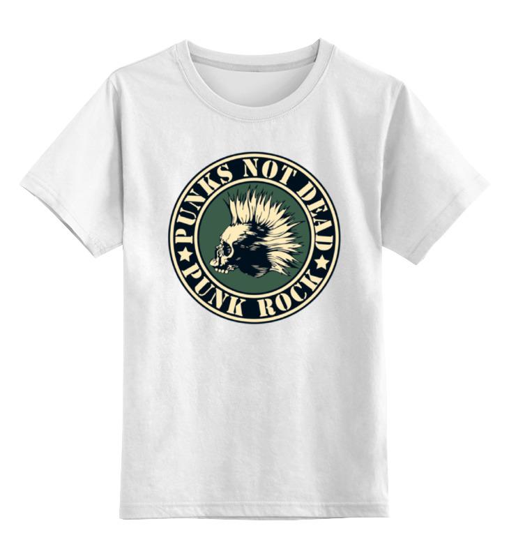 Детская футболка классическая унисекс Printio Punks not dead футболка рингер printio hello punks v2