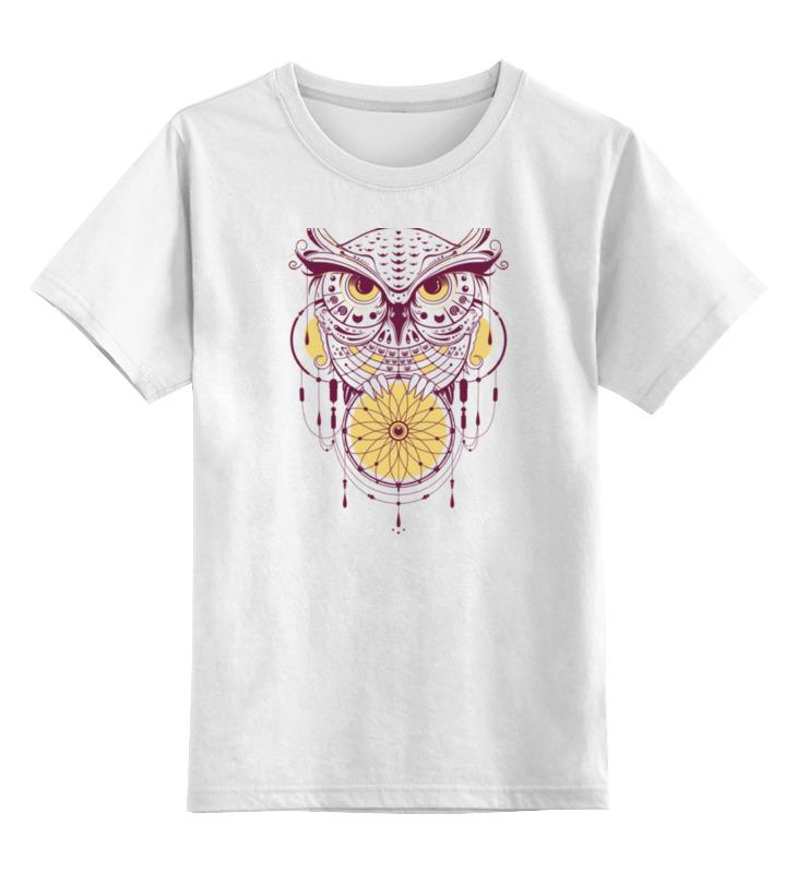 Детская футболка классическая унисекс Printio Геометрическая сова детская футболка классическая унисекс printio мачете