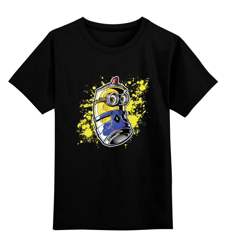 Детская футболка классическая унисекс Printio Minion graffiti детская футболка классическая унисекс printio minion dracula