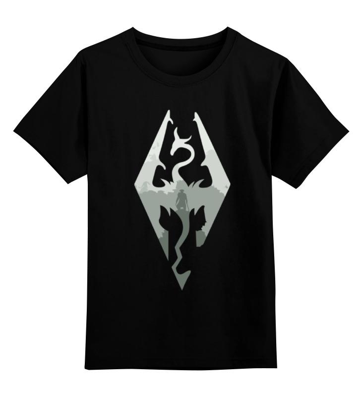 все цены на Детская футболка классическая унисекс Printio Skyrim (скайрим)