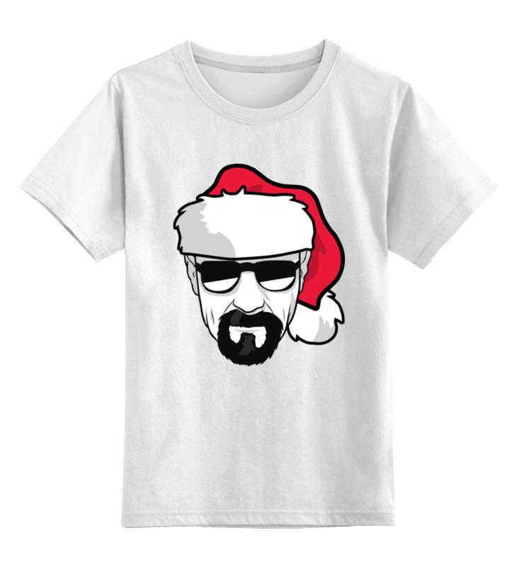 Детская футболка классическая унисекс Printio Хайзенберг (во все тяжкие) цена
