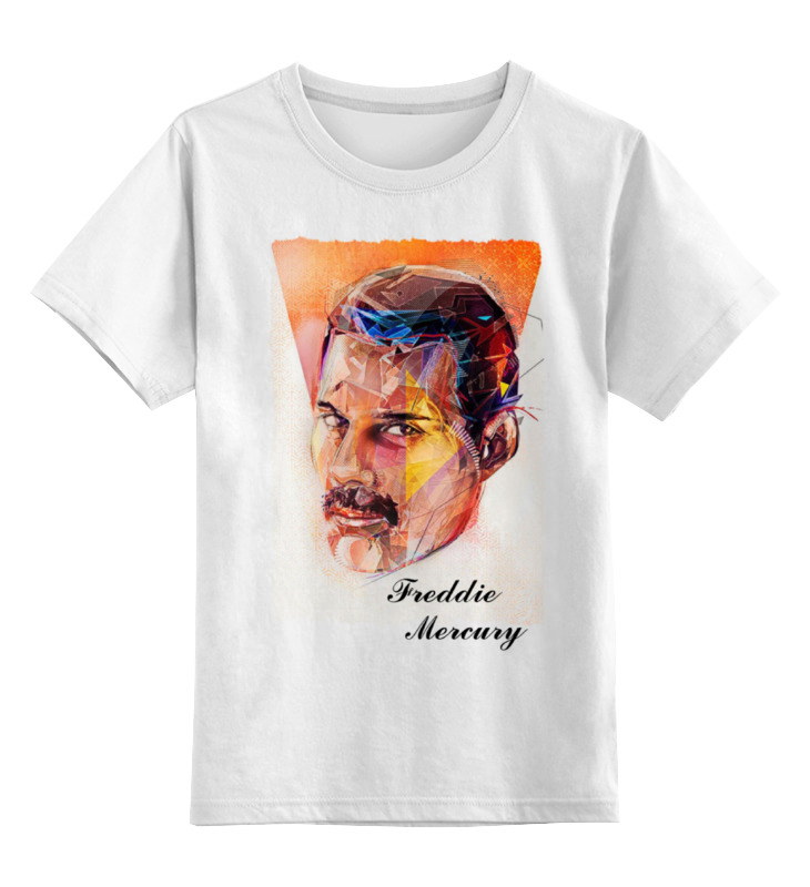 Детская футболка классическая унисекс Printio Freddie mercury - queen цена и фото
