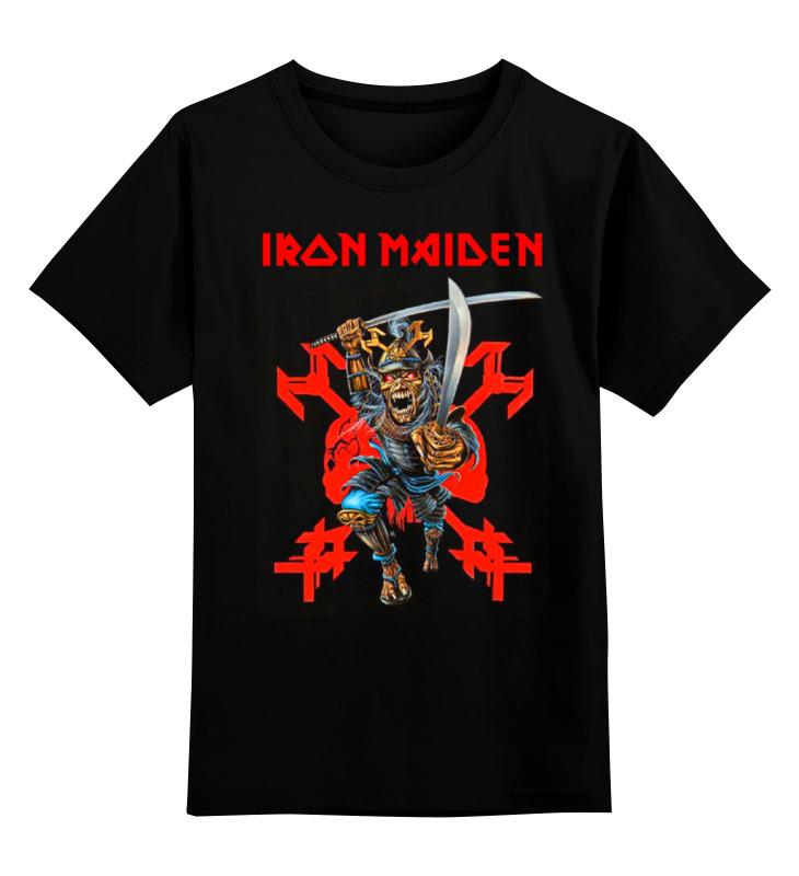 Детская футболка классическая унисекс Printio Iron maiden band футболка iron maiden