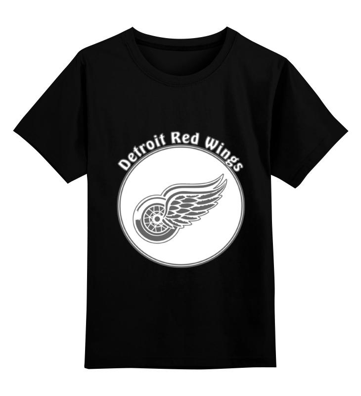 Детская футболка классическая унисекс Printio Detroit red wings eurofit detroit iwm