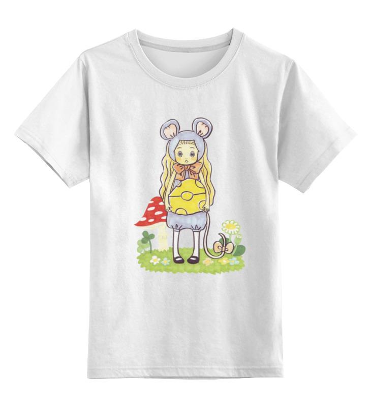 Детская футболка классическая унисекс Printio Мёд и клевер форма для аппликаций и фильцевания clover клевер и кролик