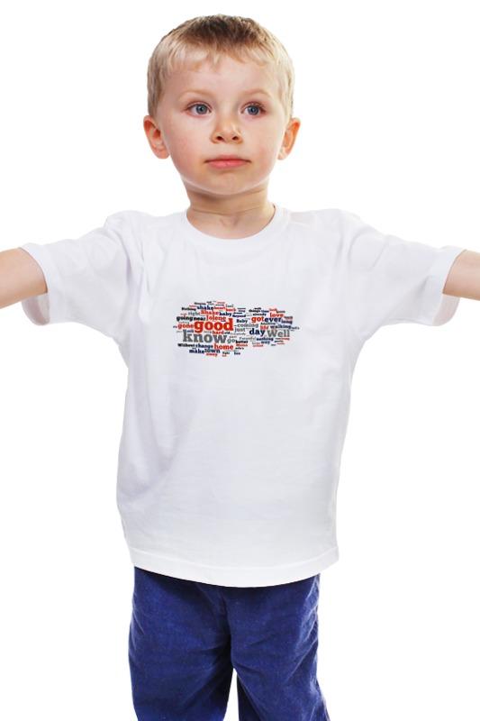 Детская футболка классическая унисекс Printio Слова, слова...