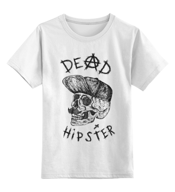 Printio Hipster детская футболка классическая унисекс printio dead hipster