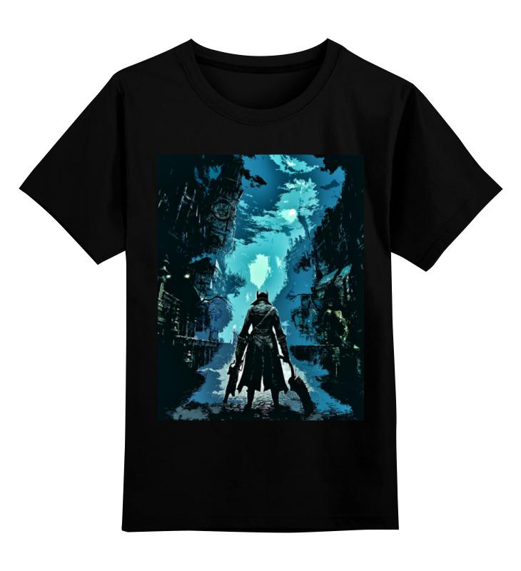 Детская футболка классическая унисекс Printio Bloodborne