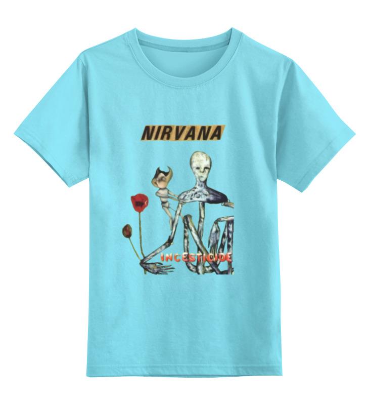 Детская футболка классическая унисекс Printio Nirvana incesticide album t-shirt майка классическая printio nirvana incesticide album t shirt