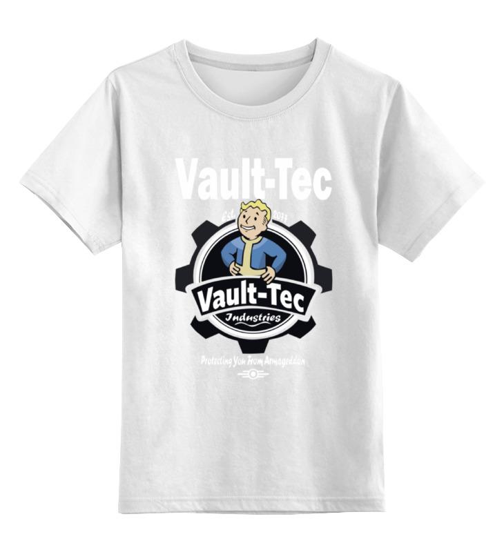 Детская футболка классическая унисекс Printio Fallout  vault-tec футболка классическая printio fallout фэллаут
