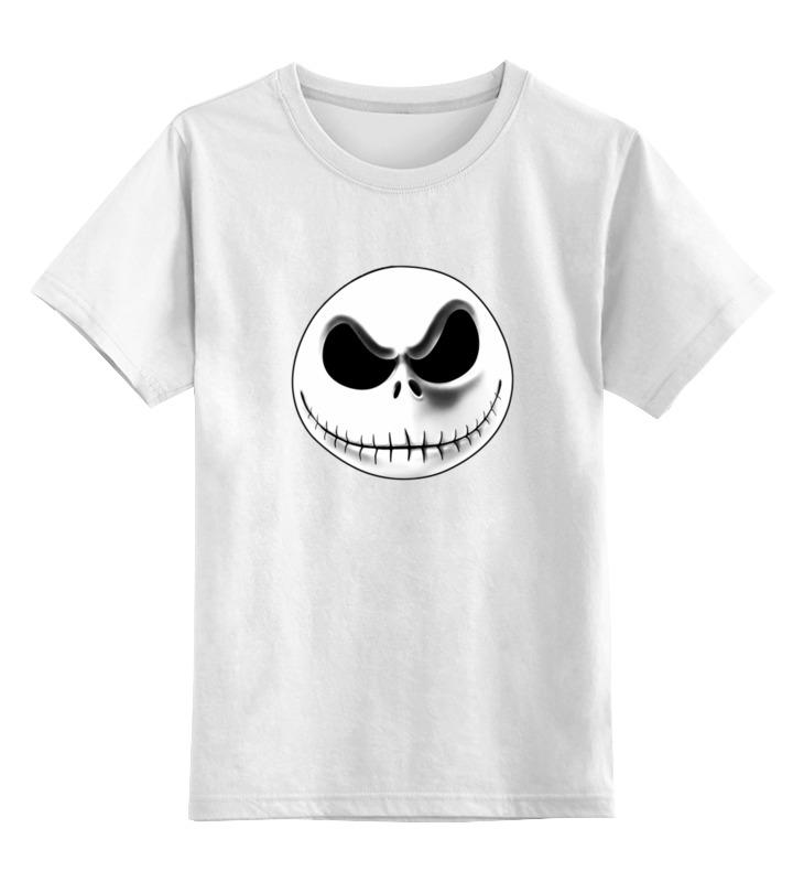 Детская футболка классическая унисекс Printio Jack skellington (джек скеллингтон) майка классическая printio jack skellington