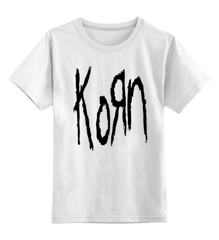 Детская футболка классическая унисекс Printio Korn (koяn)