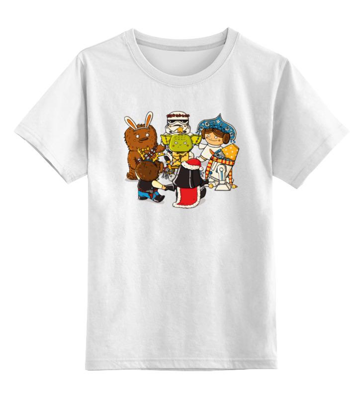 Детская футболка классическая унисекс Printio Звёздные войны – новый год футболка классическая printio новый год 2018