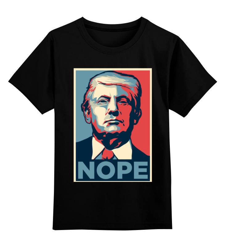 Детская футболка классическая унисекс Printio Дональд трамп цена и фото