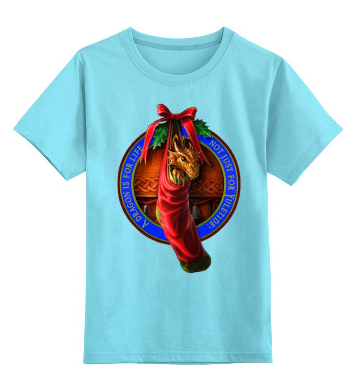 Детская футболка классическая унисекс Printio Необычный подарок