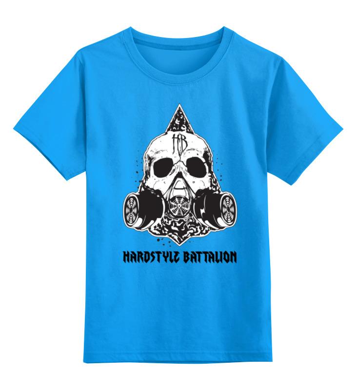 Детская футболка классическая унисекс Printio Hardstyle battalion рюкзак cougar battalion
