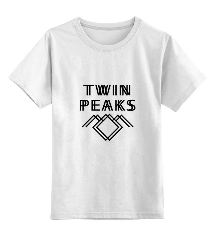 Детская футболка классическая унисекс Printio Твин пикс (twin peaks) цена
