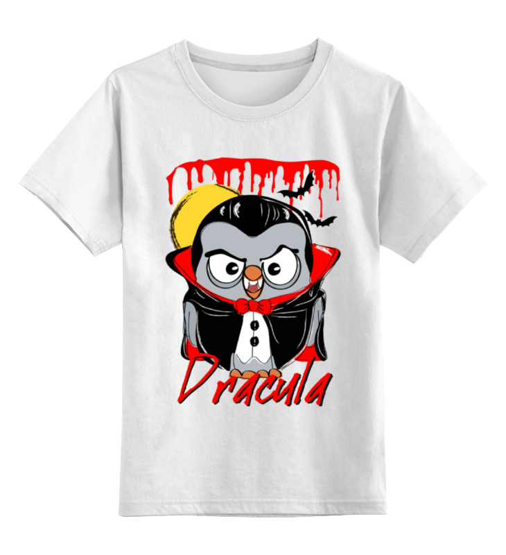 Детская футболка классическая унисекс Printio Сова дракула суперсова goofi футболка классическая printio сова сальвадор дали суперсова goofi