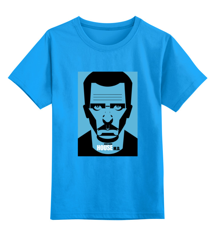 Детская футболка классическая унисекс Printio Доктор хаус (house m.d.) футболка классическая printio доктор хаус house