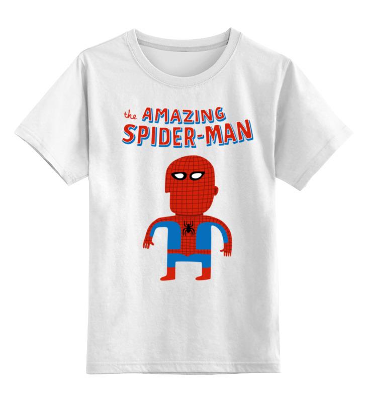 Printio Человек-паук детская футболка классическая унисекс printio человек паук и веном