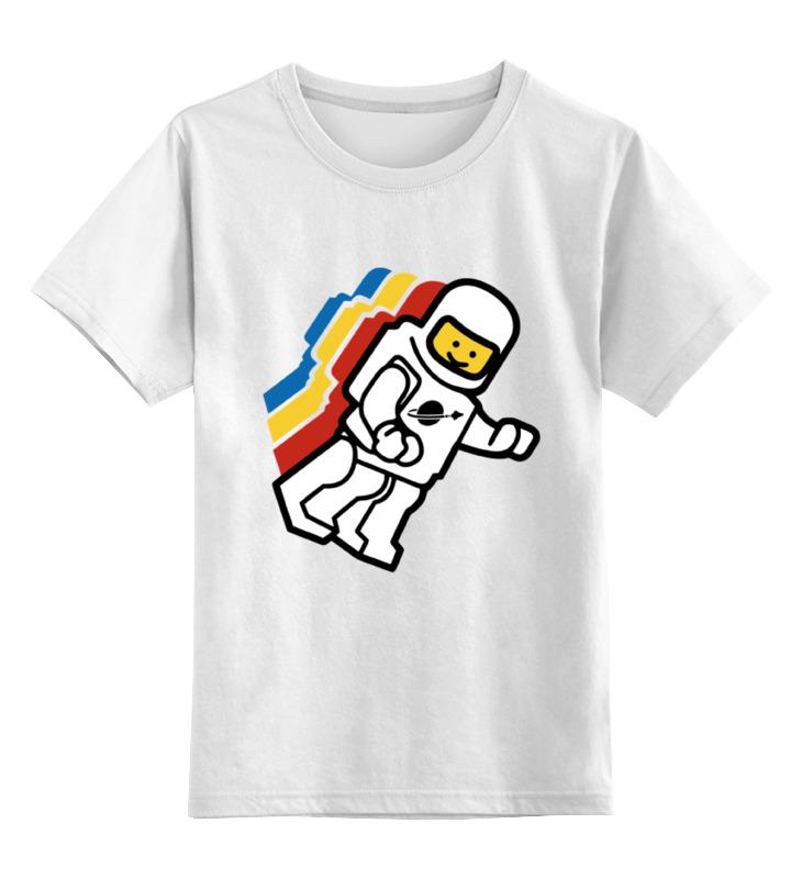 Детская футболка классическая унисекс Printio Космонавт лего детская футболка классическая унисекс printio рога