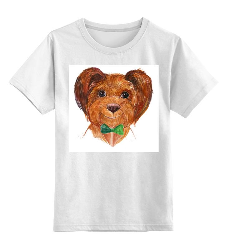 Детская футболка классическая унисекс Printio Собака детская футболка классическая унисекс printio бразилия