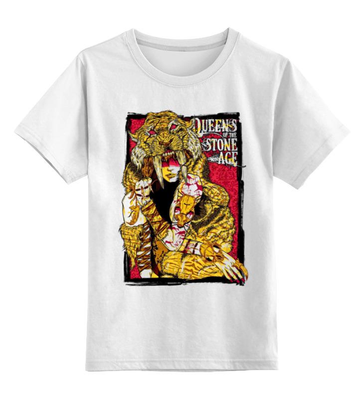 Детская футболка классическая унисекс Printio Queens of the stone age the age of desire