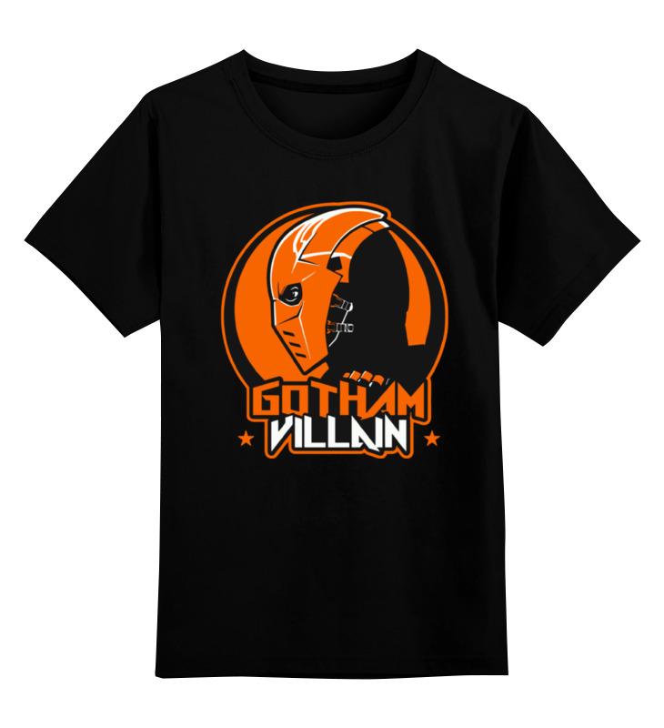 Детская футболка классическая унисекс Printio Deathstroke 3d пазл expetro голова африканского слона 10703