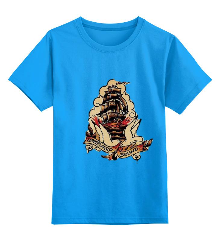 Детская футболка классическая унисекс Printio Pinguin цена