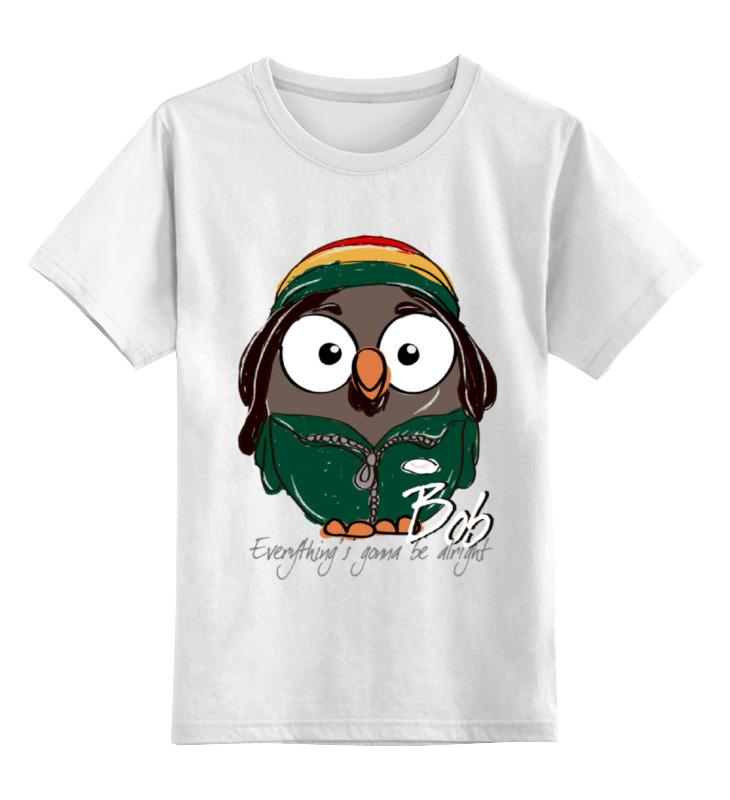 Детская футболка классическая унисекс Printio Сова боб марли суперсова goofi футболка стрэйч printio сова супермен суперсова goofi