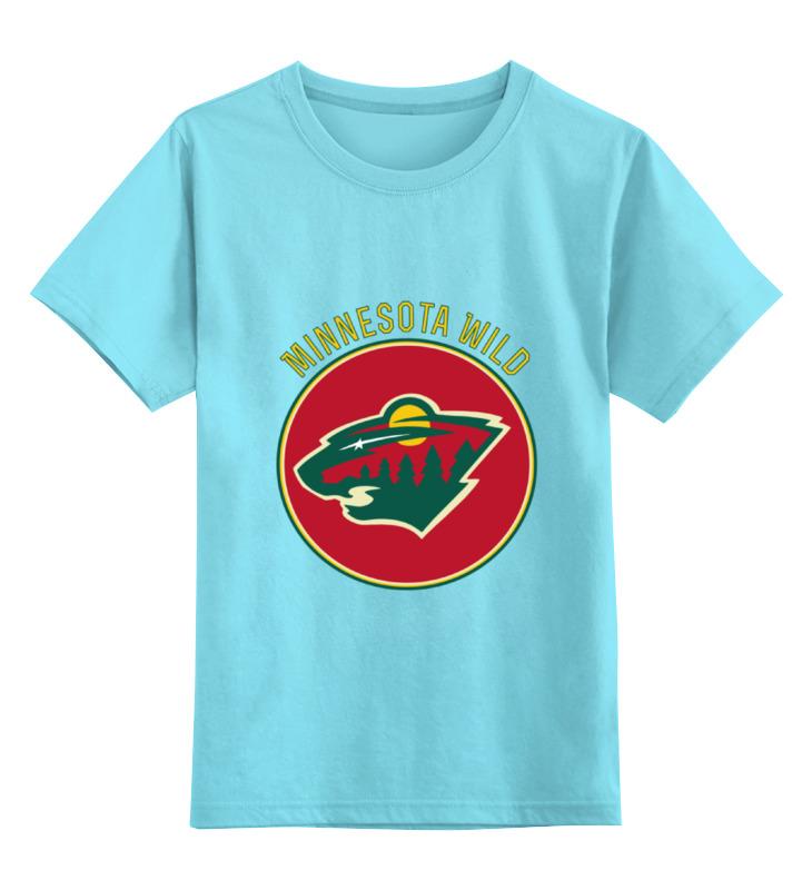 Детская футболка классическая унисекс Printio Миннесота уайлд ким уайлд köln