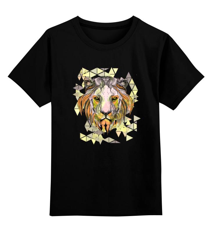 Детская футболка классическая унисекс Printio Царь зверей пазл 360 арт терапия царь зверей 02899