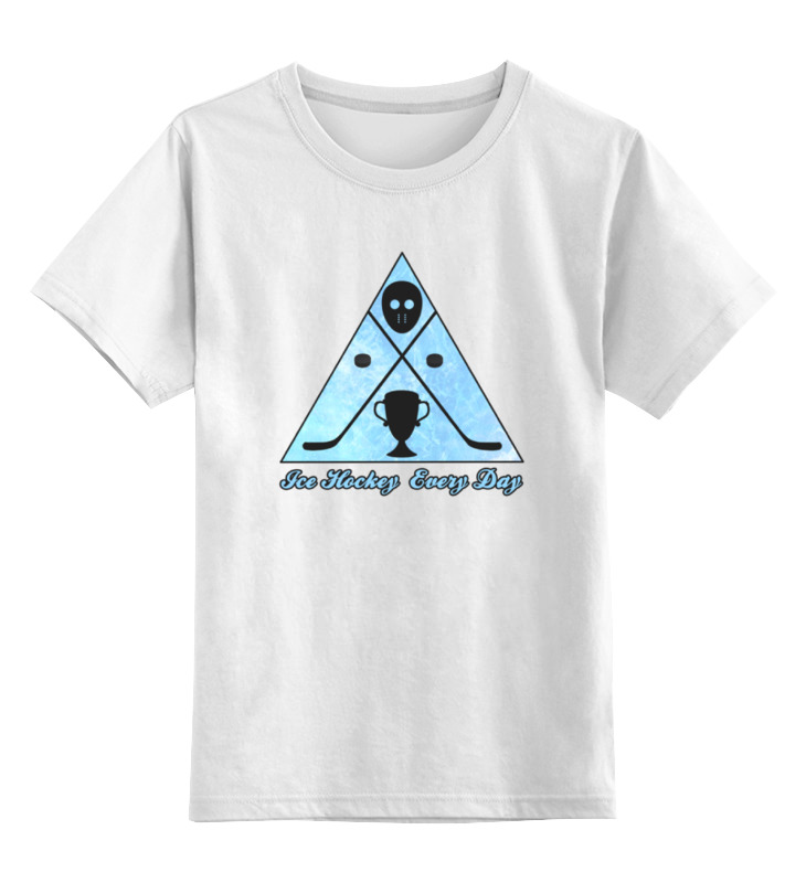 Детская футболка классическая унисекс Printio Ice hockey детская футболка классическая унисекс printio козел