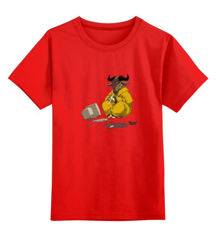 Детская футболка классическая унисекс Printio Медитирующий бык детская футболка классическая унисекс printio мачете
