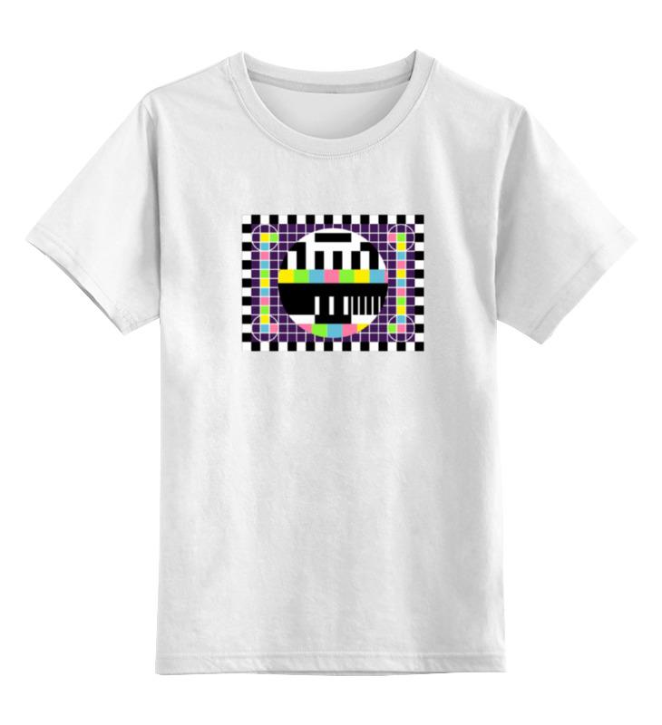 где купить Детская футболка классическая унисекс Printio Шелдон купер - настроечная таблица по лучшей цене