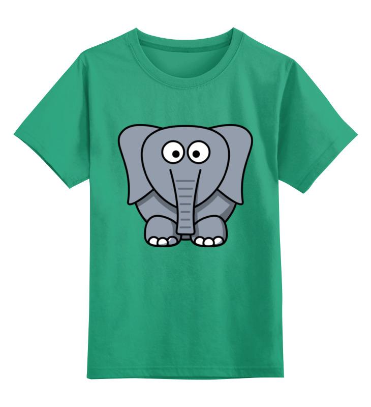 Детская футболка классическая унисекс Printio Милый слоник детская футболка классическая унисекс printio слоник