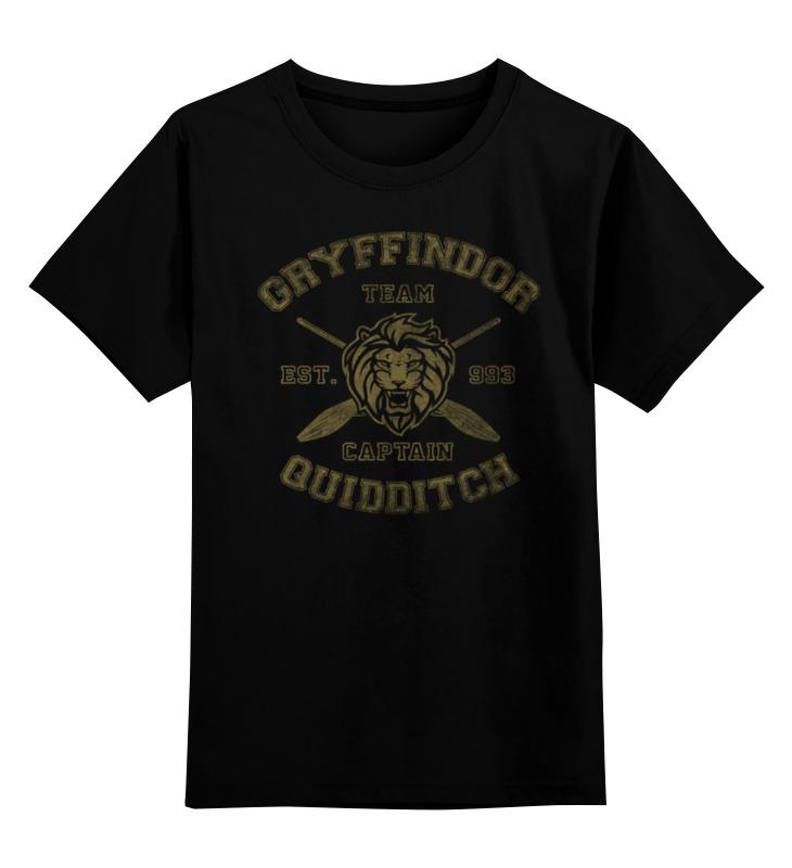 купить Детская футболка классическая унисекс Printio Gryffindor quidditch team недорого