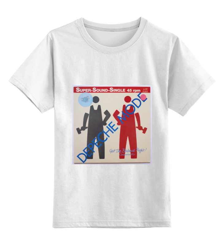Детская футболка классическая унисекс Printio Depeche mode детская футболка классическая унисекс printio mrs always right