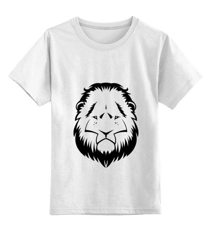 Детская футболка классическая унисекс Printio я - интересный большой кот