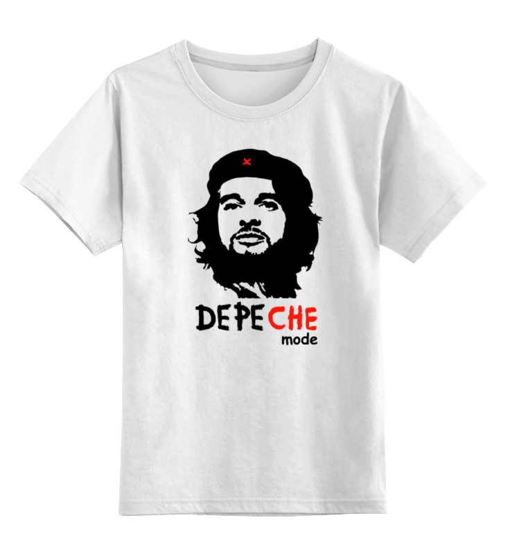 Детская футболка классическая унисекс Printio Depeche mode - david aka che цена