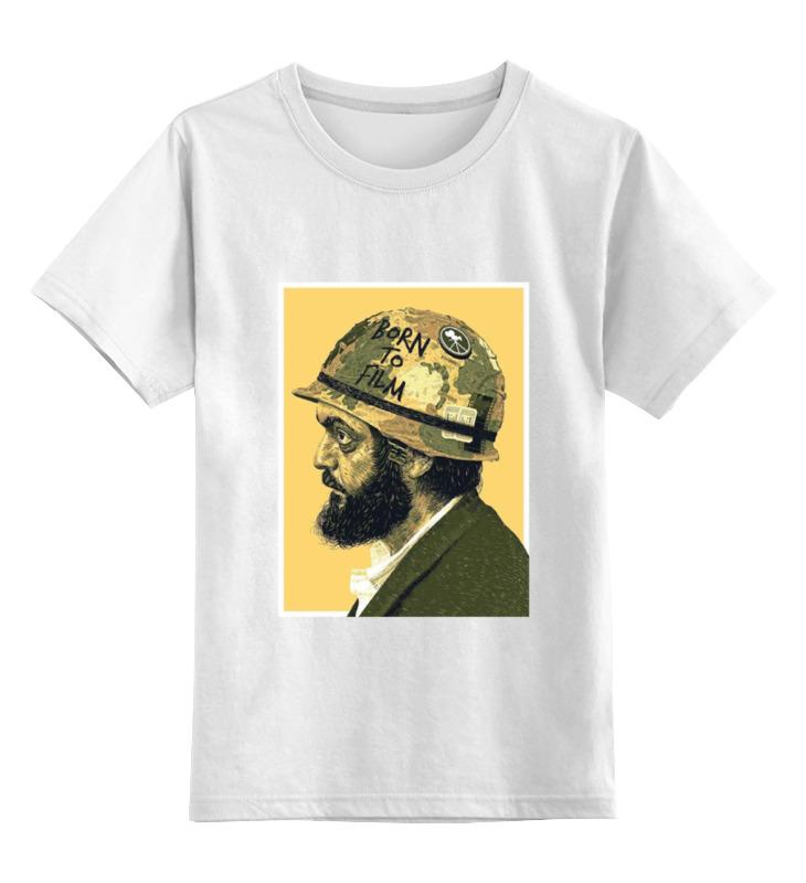 Детская футболка классическая унисекс Printio Стэнли кубрик цена и фото