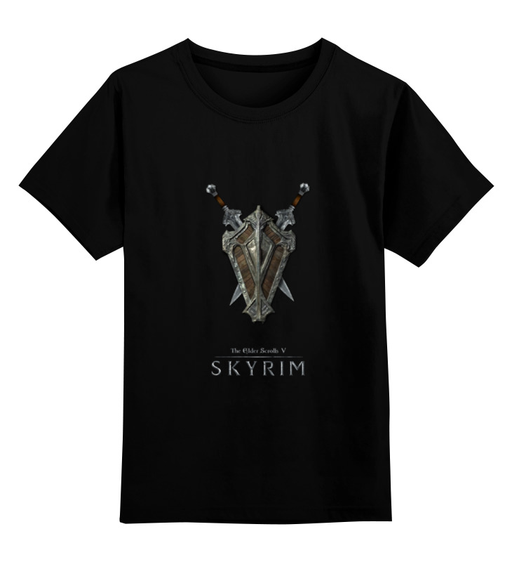 Детская футболка классическая унисекс Printio Skyrim футболка print bar skyrim