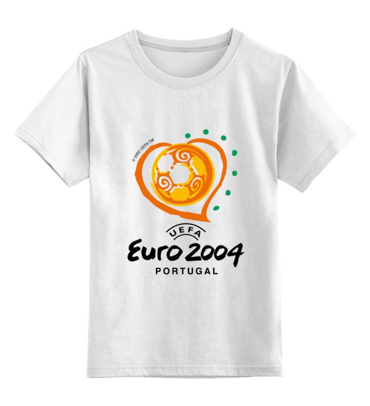 Детская футболка классическая унисекс Printio Чемпионат европы по футболу 2004 gianna июня европы с высоким раунд с шу ци звезда blk полоса тонкая длинная рубашка холтер платье