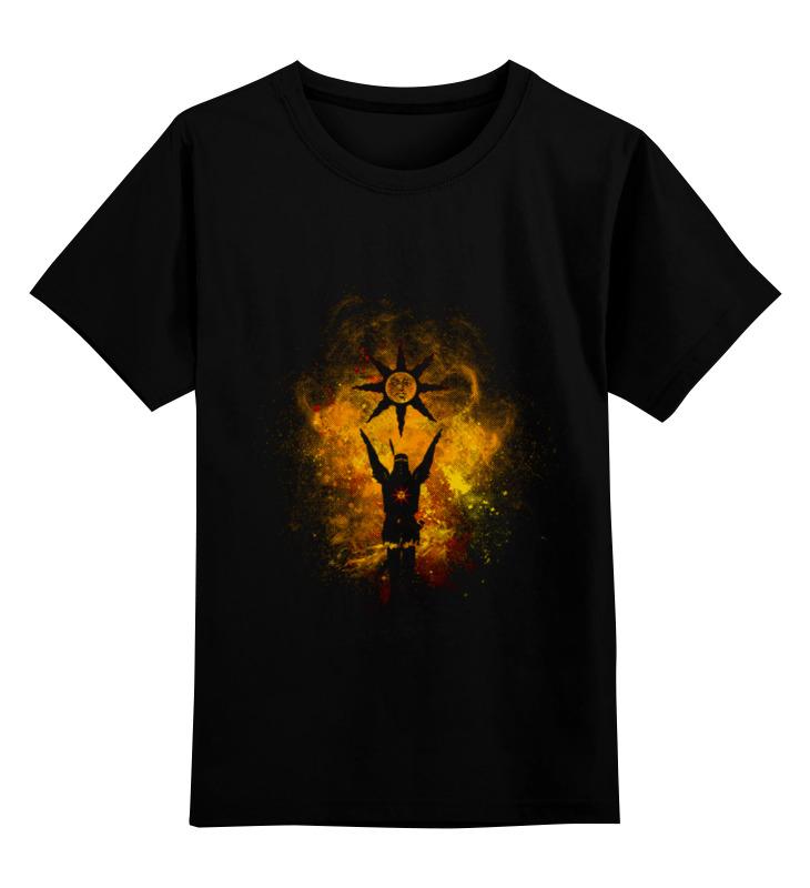 Детская футболка классическая унисекс Printio Praise the sun футболка классическая printio оранжевое солнце
