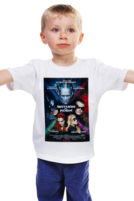 Детская футболка классическая унисекс Printio Бэтмен и робин / batman & robin детская футболка классическая унисекс printio бэтмен и робин