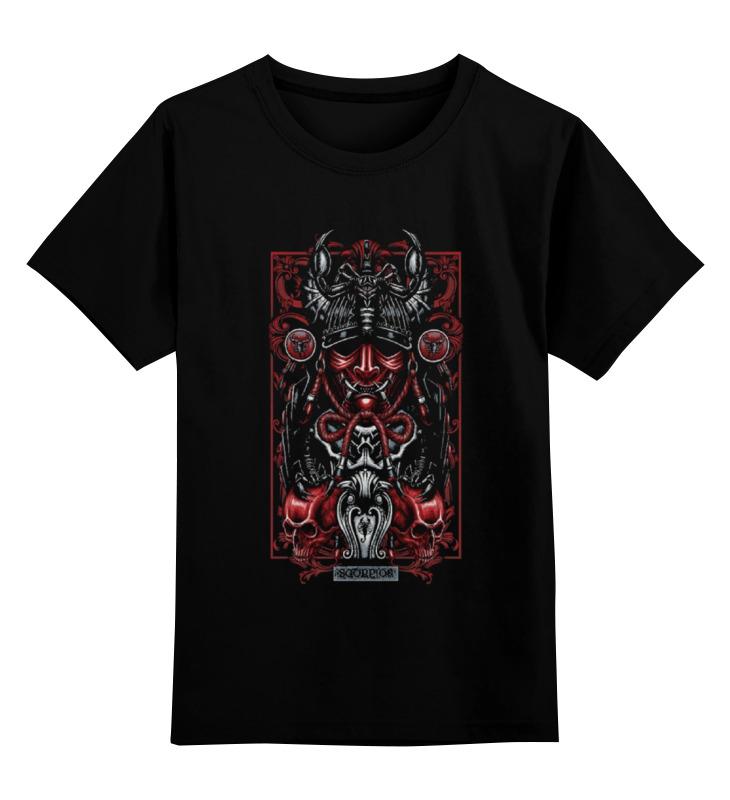 Детская футболка классическая унисекс Printio Скорпион (зодиак) стоимость