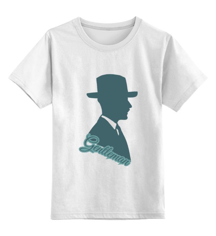 Детская футболка классическая унисекс Printio Джентельмен детская футболка классическая унисекс printio девушка в шляпе